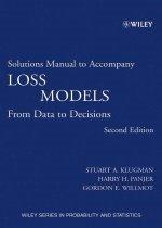 "<font title=""Solutions manual to Accompany Loss Models (Paperback / 2nd Ed.)"">Solutions manual to Accompany Loss Model...</font>"