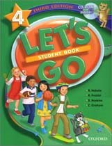 Let's Go 4 (3rd Edition) - Student Book with CD-ROM (Paperback)
