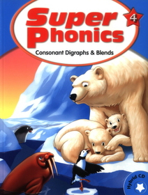"<font title=""Super Phonics 4 : Studentbook (Paperback+ CD:1)"">Super Phonics 4 : Studentbook (Paperback...</font>"