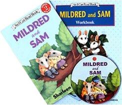 Mildred and Sam - I Can Read Book Workbook Set Level 2 (Paperback + Workbook + CD)