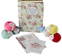 The Crochet Tin Book (Hardcover)