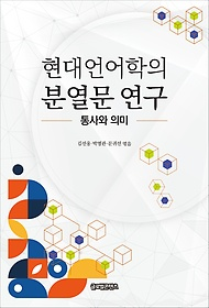 현대언어학의분열문연구:통사와의미