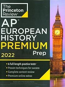 """<font title=""""Princeton Review AP European History Premium Prep, 2022(Paperback)(Paperback)(Paperback)"""">Princeton Review AP European History Pre...</font>"""