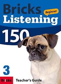 """<font title=""""Bricks Listening Beginner 150. 3(Teacher"""