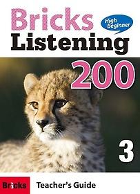 """<font title=""""Bricks Listening High Beginner 200. 3(Teacher"""