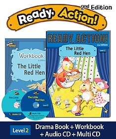 """<font title=""""Ready Action. 2: The Little Red Hen(SB with CDs+WB)"""">Ready Action. 2: The Little Red Hen(SB w...</font>"""