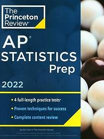 """<font title=""""Princeton Review AP Statistics Prep, 2022(Paperback)"""">Princeton Review AP Statistics Prep, 202...</font>"""