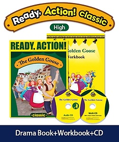 """<font title=""""Ready Action Classic (High): The Golden Goose(SB+WB)(with CDs)"""">Ready Action Classic (High): The Golden ...</font>"""