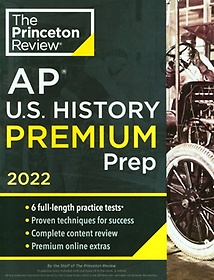 "<font title=""Princeton Review AP U.S. History Premium Prep, 2022(Paperback)"">Princeton Review AP U.S. History Premium...</font>"