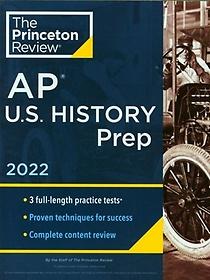 """<font title=""""Princeton Review AP U.S. History Prep, 2022(Paperback)"""">Princeton Review AP U.S. History Prep, 2...</font>"""