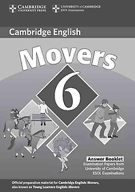Cambridge Movers 6 Answer Booklet