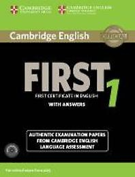 """<font title=""""Cambridge English First 1 for Revised Exam from 2015 Student"""