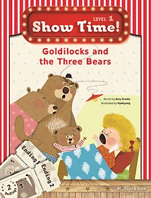 """<font title=""""Show Time! Level 1: Goldilocks and the Three Bears 세트(SB+WB)"""">Show Time! Level 1: Goldilocks and the T...</font>"""
