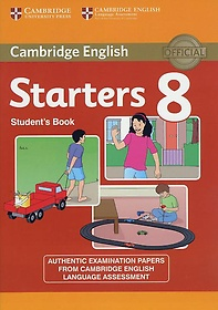 """<font title=""""Cambridge Young Learners English Tests 8 Starters Student"""