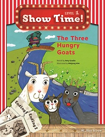 """<font title=""""Show Time! Level 1: The Three Hungry Goats 세트(SB+WB)"""">Show Time! Level 1: The Three Hungry Goa...</font>"""