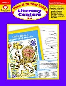 EM 2124 Literacy Centers Grade 3-4