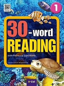 """<font title=""""30-word Reading. 1: Student Book(WB+MP3 CD+단어/문장쓰기 노트)"""">30-word Reading. 1: Student Book(WB+MP3 ...</font>"""