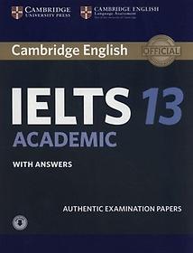 """<font title=""""Cambridge IELTS 13 Academic with Answers with Audio (오디오포함)"""">Cambridge IELTS 13 Academic with Answers...</font>"""