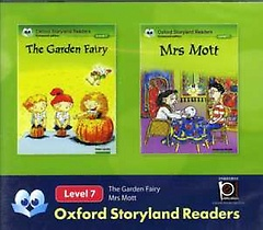 """<font title=""""Oxford Storyland Readers Level 7: The Garden Fairy Mrs Mott(CD)"""">Oxford Storyland Readers Level 7: The Ga...</font>"""