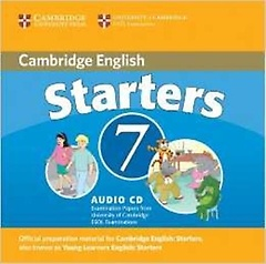"""<font title=""""Cambridge Young Learners English Tests 7 Starters Audio CD"""">Cambridge Young Learners English Tests 7...</font>"""