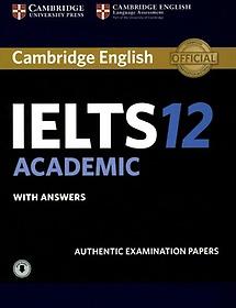 """<font title=""""Cambridge Ielts 12 Academic Student"""