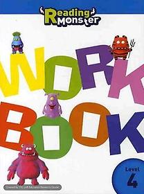 READING MONSTER. 4(WORK BOOK)