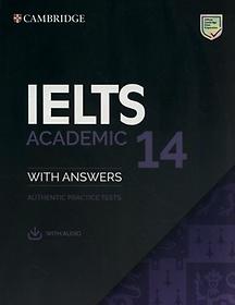 """<font title=""""Cambridge IELTS 14 Academic Student"""