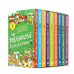 """<font title=""""13층 나무집 Treehouse 9종 박스세트 Paperback Collection (영국판)"""">13층 나무집 Treehouse 9종 박스세트 Paper...</font>"""