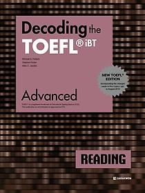 "<font title=""Decoding the TOEFL iBT Reading Advanced(New TOEFL Edition)"">Decoding the TOEFL iBT Reading Advanced(...</font>"
