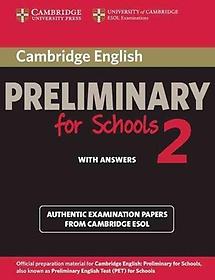"<font title=""Cambridge English Preliminary for Schools 2"">Cambridge English Preliminary for School...</font>"