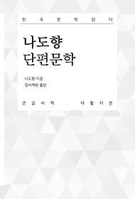 나도향 단편문학(큰글씨책 대활자본)