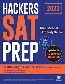 """<font title=""""HACKERS SAT PREP: The Essential SAT Study Guide(2022)"""">HACKERS SAT PREP: The Essential SAT Stud...</font>"""
