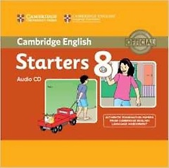 """<font title=""""Cambridge Young Learners English Tests 8 Starters Audio CD"""">Cambridge Young Learners English Tests 8...</font>"""