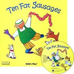 [노부영] Ten Fat Sausages (Paperback+CD)