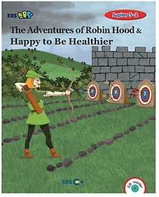 """<font title=""""The Adventures of Robin Hood & Happy to Be Healthier  스토리북(Level 5)"""">The Adventures of Robin Hood & Happy to ...</font>"""