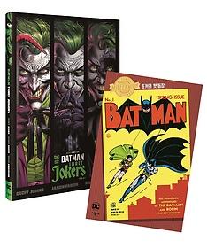 """<font title=""""배트맨: 세 명의 조커 + 배트맨 #1 밀레니엄 에디션 세트"""">배트맨: 세 명의 조커 + 배트맨 #1 밀레니...</font>"""