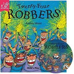 노부영 세이펜 Twenty-Four Robbers (with CD)