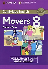 """<font title=""""Cambridge Young Learners English Tests 8 Movers Student"""