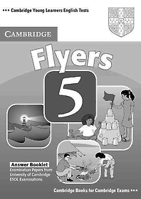 """<font title=""""Cambridge Young Learners English Tests Flyers 5 Answer Booklet"""">Cambridge Young Learners English Tests F...</font>"""