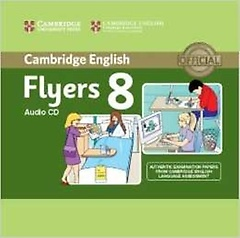 """<font title=""""Cambridge Young Learners English Tests 8 Flyers Audio CD"""">Cambridge Young Learners English Tests 8...</font>"""