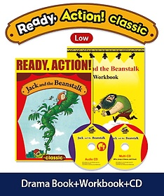 """<font title=""""Ready Action Classic. 1: Jack and the Beanstalk(SB with CDs+WB)"""">Ready Action Classic. 1: Jack and the Be...</font>"""