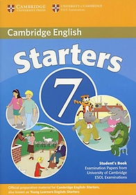 """<font title=""""Cambridge Young Learners English Tests 7 Starters Student"""