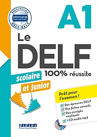 """<font title=""""Delf Scolaire Et Junior  - 100% Reussite - A1 - Livre + Cd Mp3"""">Delf Scolaire Et Junior  - 100% Reussite...</font>"""