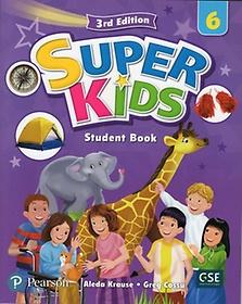 Super Kids. 6 SB with CD & PEP