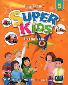 Super Kids. 5 SB with CD & PEP