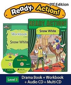 "<font title=""Ready Action Level. 3: Snow White(SB with CDs+WB)"">Ready Action Level. 3: Snow White(SB wit...</font>"