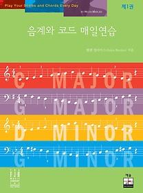 음계와 코드 매일연습. 1