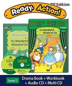 "<font title=""Ready Action Level. 3: The Wonderful Wizard of Oz(SB with CDs+WB)"">Ready Action Level. 3: The Wonderful Wiz...</font>"