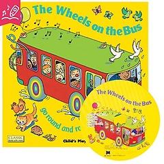 노부영 마더구스 세이펜 Wheels on the Bus Go Round and Round (with CD)