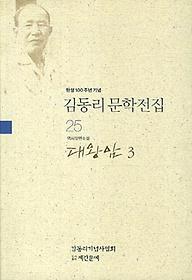 김동리 문학전집. 25: 대왕암 3